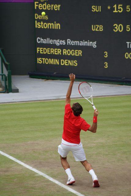 Next stop Wimbledon?